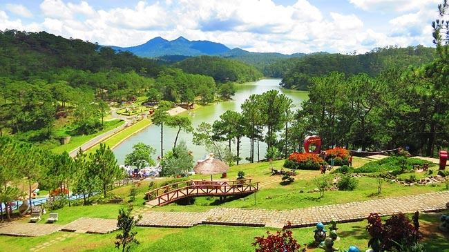 ve  may bay di da lat gia re