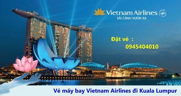 vé máy bay vietnam airlines đi kuala lumpur