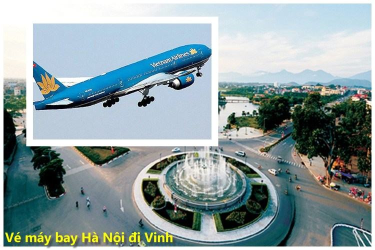 ve may bay ha noi di vinh
