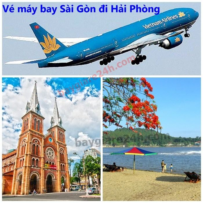 ve may bay sai gon di hai phong