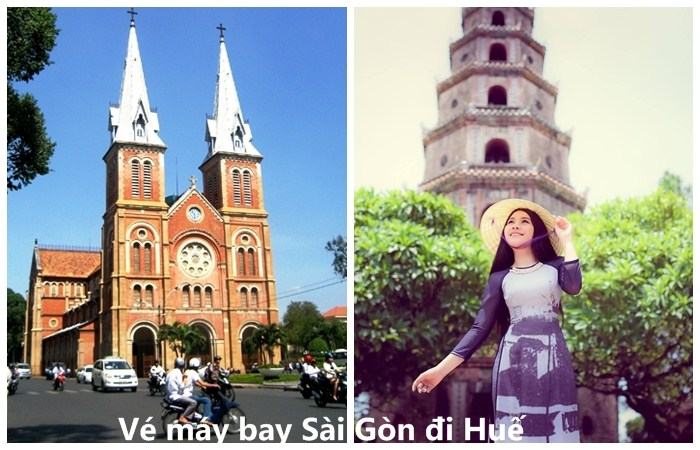 ve may bay sai gon di hue