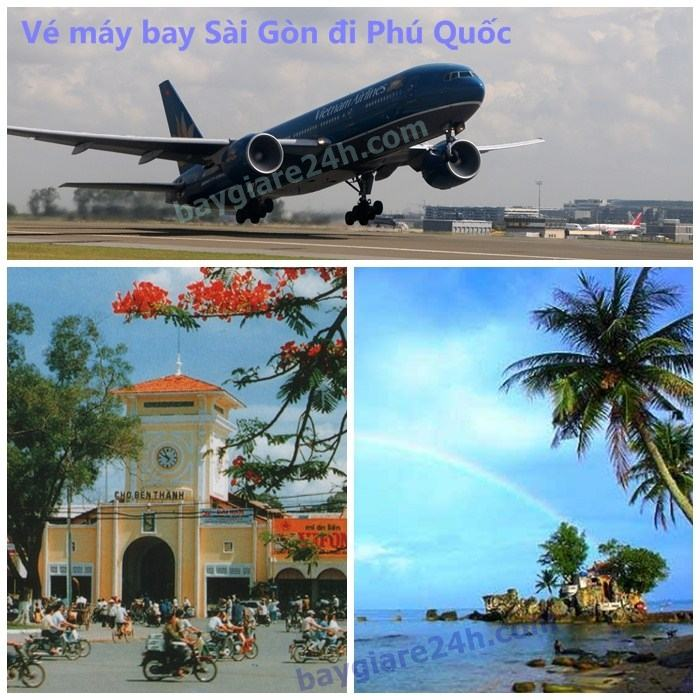 ve may bay sai gon di phu quoc
