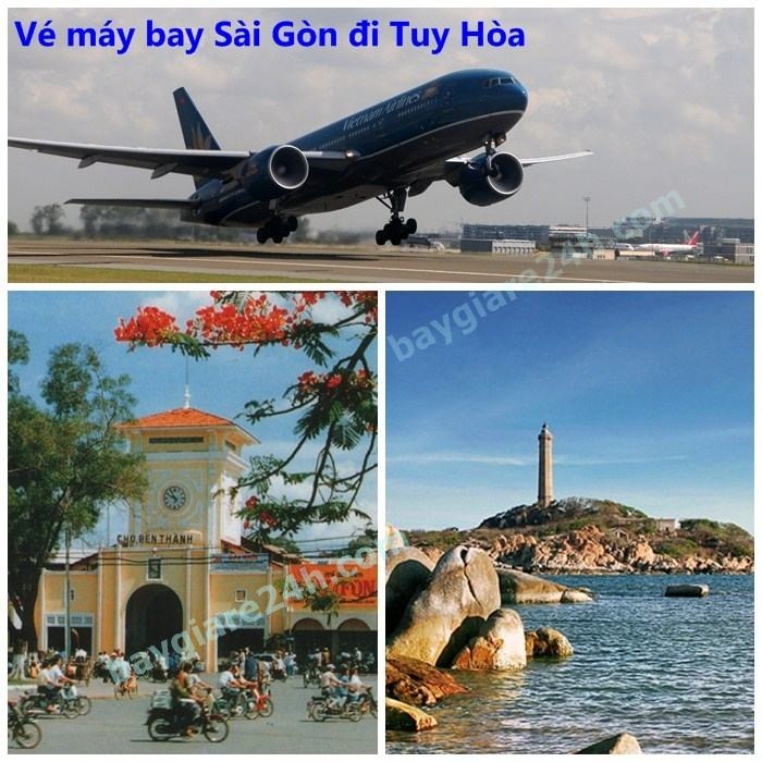 ve may bay sai gon di tuy hoa