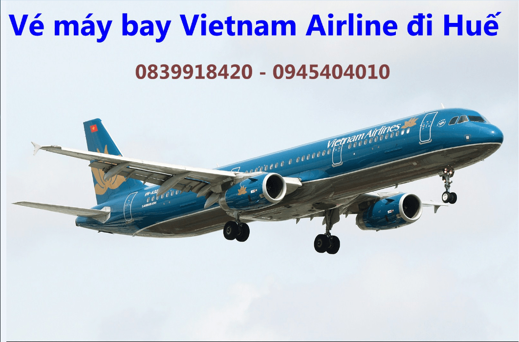 ve may bay vietnam airline di hue