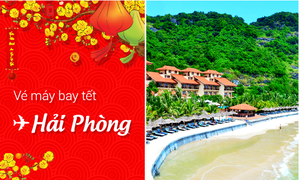 dat ve may bay tet di hai phong