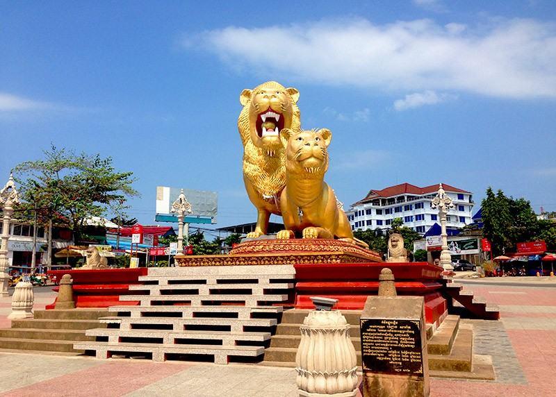 hình tượng 2 con sư tử