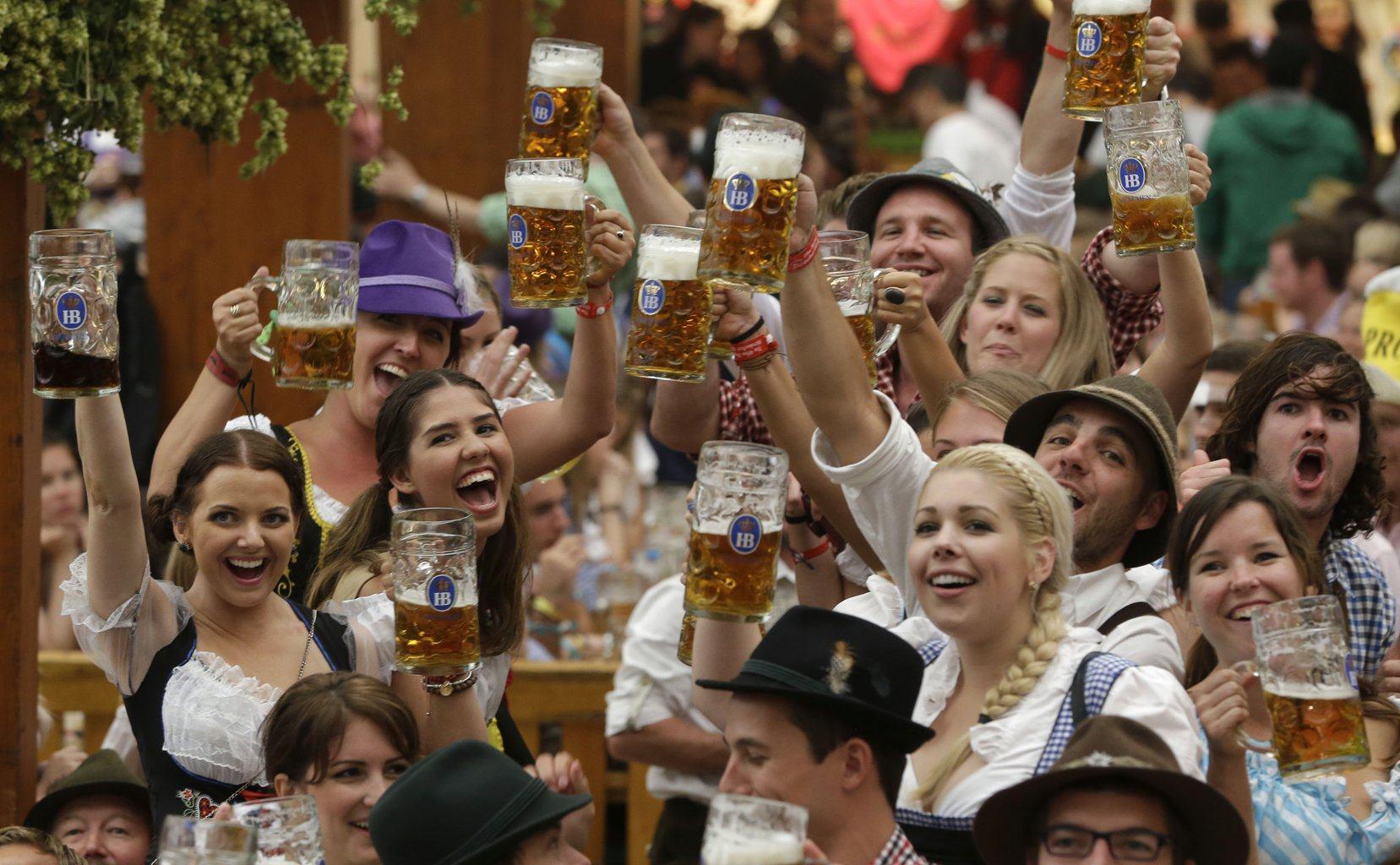 lễ hội bia ở munich