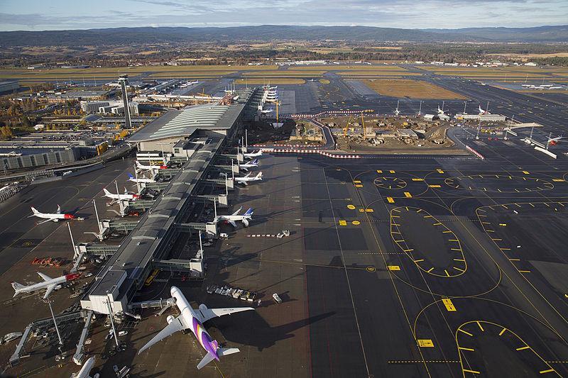 sân bay oslo