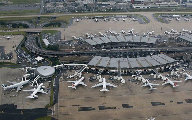 sân bay quốc tế Charles de Gaulle