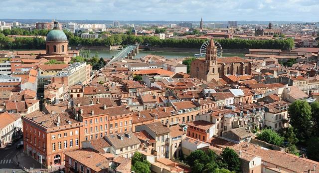vé máy bay đi Toulouse