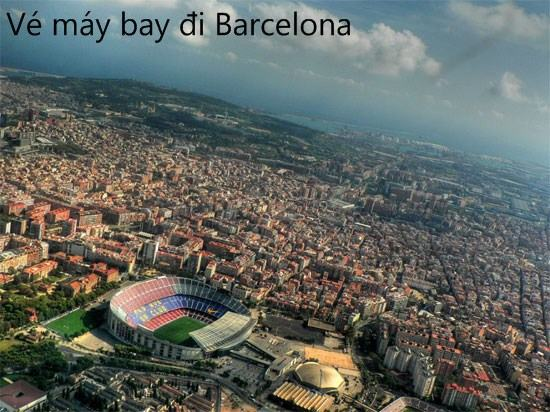 ve may bay di barcelona