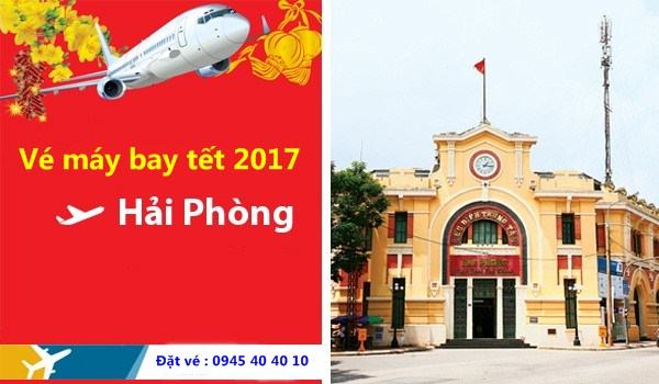 ve may bay tet 2017 di hai phong