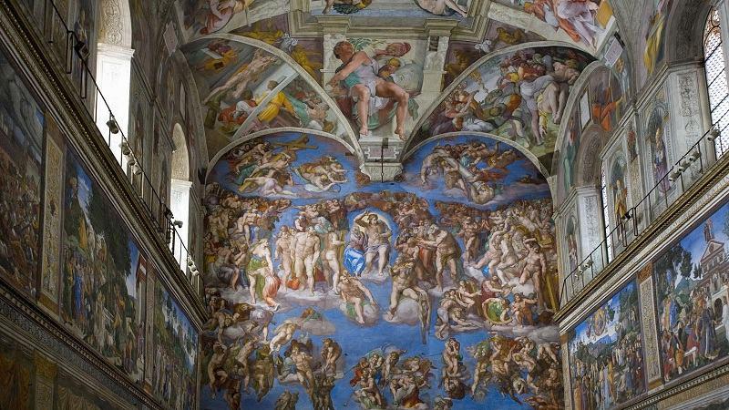 Sistine Chapel Vatican Museum Rome Italy
