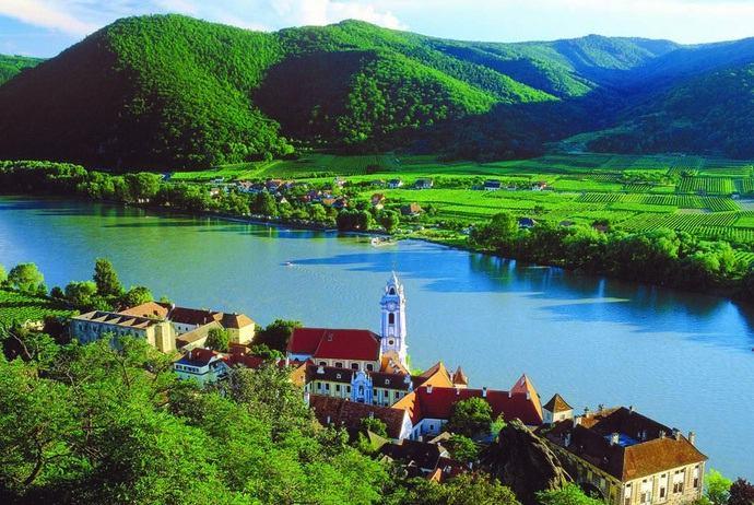 dòng sông Danube