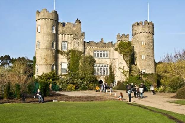 lâu đài dublin