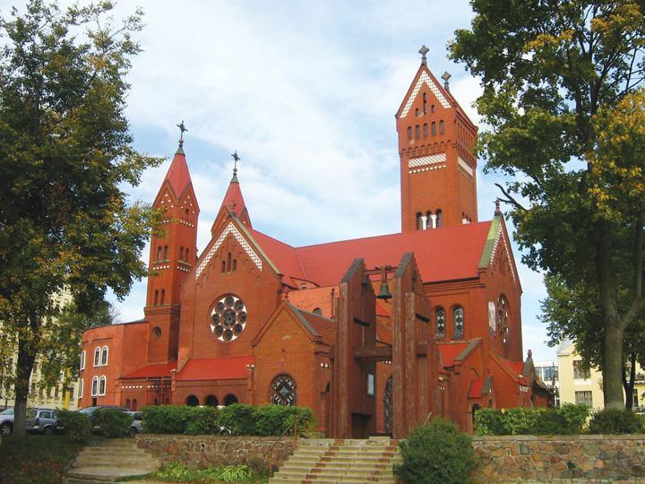 nhà thờ cổ minsk