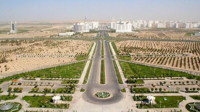 thành phố ashgabat