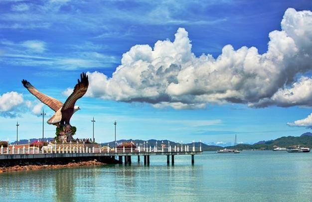 vẻ đẹp đảo langkawi