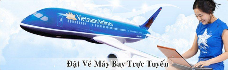 ve may bay truc tuyen vietnam airlines