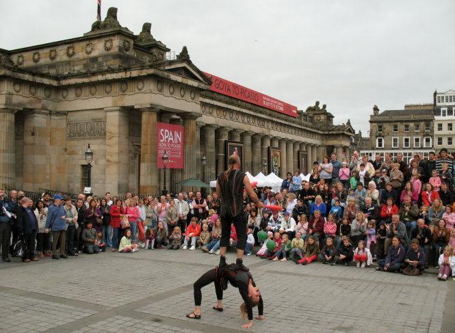 lễ hội ở edinburgh