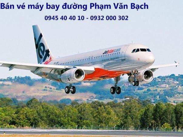 Nơi liên hệ đặt vé máy bay ở đường Phạm Văn Bạch