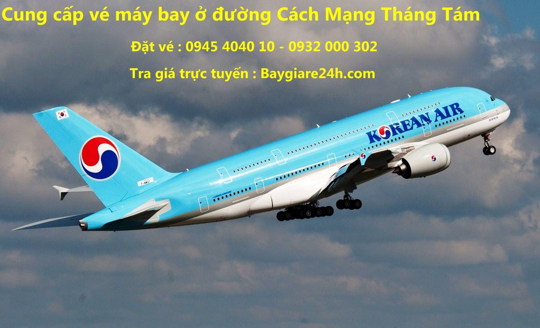 Đặt vé máy bay đường Cách Mạng Tháng Tám
