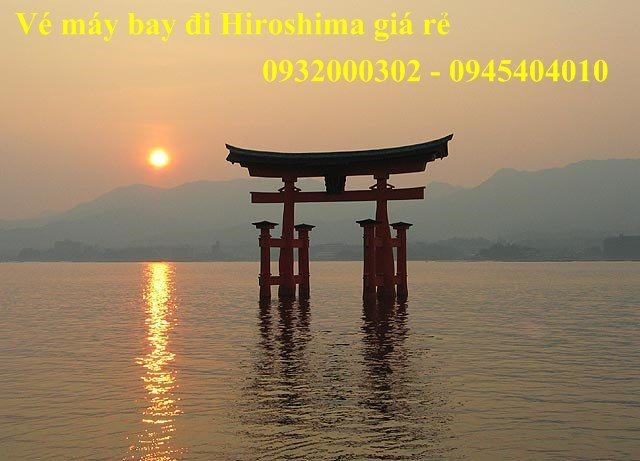 ve may bay di hiroshima