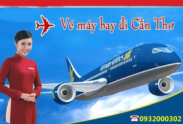ve may bay ha noi di can tho