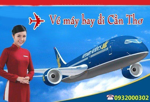 ve may bay ha noi di can tho