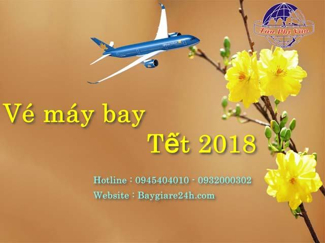 ve may bay tet 2018